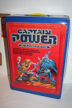 Captain Power - Carrying Case
