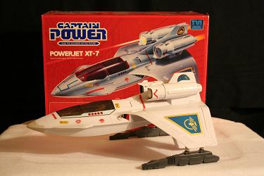Captain Power - Powerjet XT-7