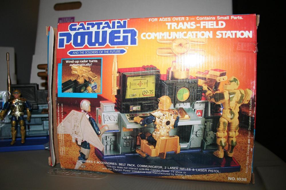 Captain Power Trans Field Communication Station Parry