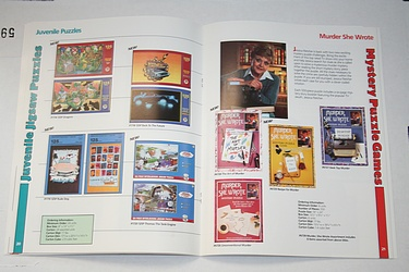 Toy Catalog - American Publishing, 1990 - Murder She Wrote