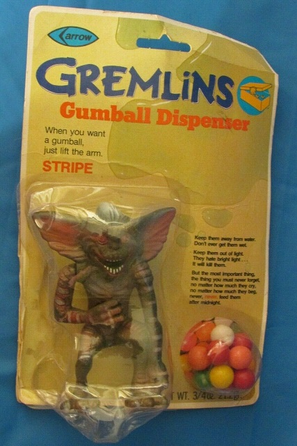 Toy Catalog: 1984 Arrow Industries, Stripe Gumball Dispenser