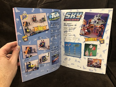 Toy Catalog: 1997 Cap Toys Sky Racers