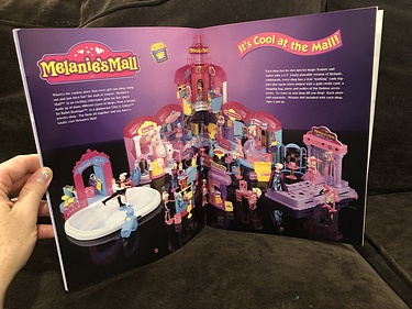 Toy Catalog: 1997 Cap Toys Melanie's Mall