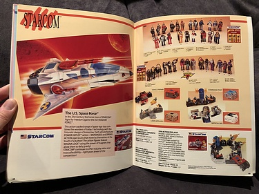 Coleco 1988 Toy Fair Catalog - Starcom