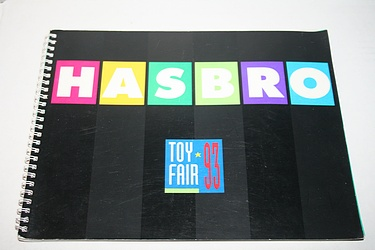 Toy Catalogs - 1993 Hasbro Toy Fair Catalog