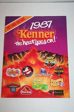 Kenner 1987 Toy Fair Catalog