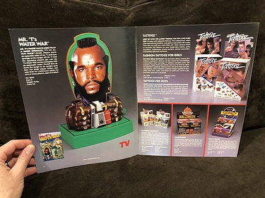 Toy Catalog: 1984 Lakeside Mr. T's Water War