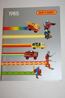 Matchbox -  1985 Toy Catalog!