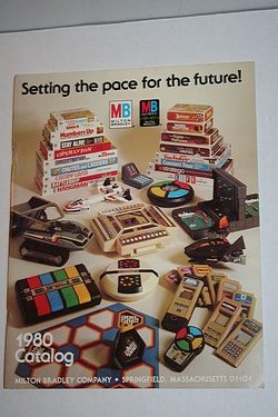 Toys and Games Catalog - 1980 Milton Bradley