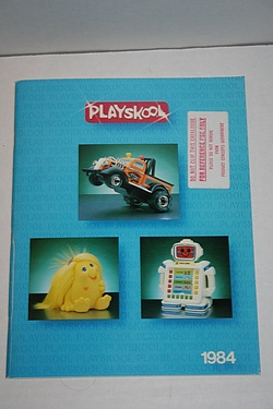 Toy Catalog - 1984 Playskool
