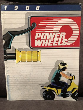 Toy Fair Catalog: Power Wheels 1988
