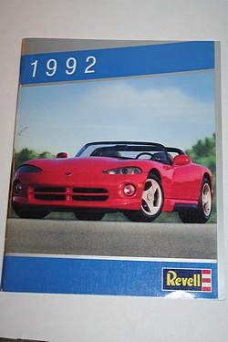 Toy Catalog - 1992 Revell