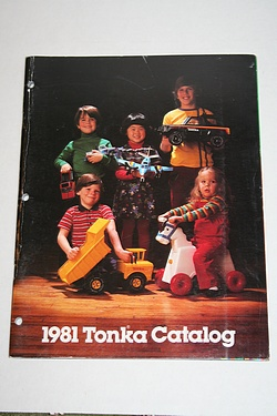 1981 Tonka Toy Catalog