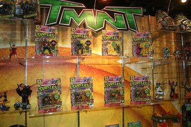 New York Comic Con - Playmates TMNT 25th Anniversary Figures