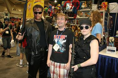 Sarah Connor, the Uncle and the Terminator