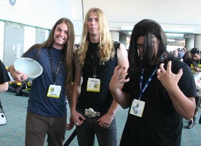 A Brutal Dethklok costume group