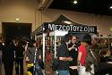 Mezco booth and our contact Mike