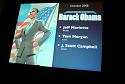 Presidential Material: Barack Obama; Jeff Mariotte, Tom Morgan, J. Scott Campbell, Oct. 2008