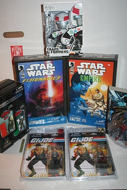 San Diego Comic Con 2010 - Hasbro Exclusives