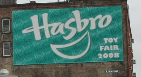 Hasbro Toy Fair Banner