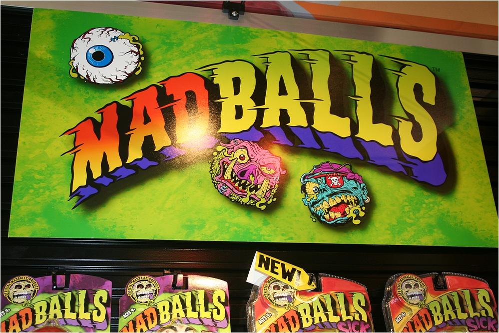 7 Madballs Mini Squirters Schum Chum Flea Bag Eye Sore Deck Head Spit Bull etc