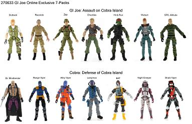 G.I. Joe Classic - new 7-packs