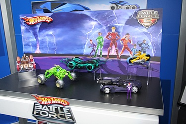 Toy Fair 2009 - Mattel: Hot Wheels