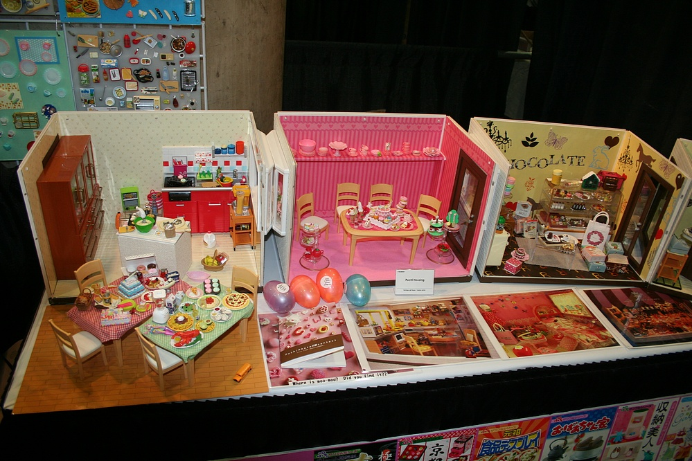 Toy Fair 2009 Coverage - Re-Ment - Parry Game Preserve