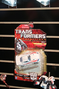 Transformers Generations - Drift Cardback