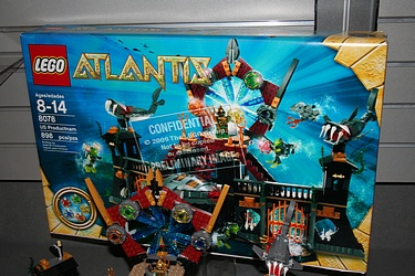 Lego Atlantis -  8078 - Portal of Atlantis