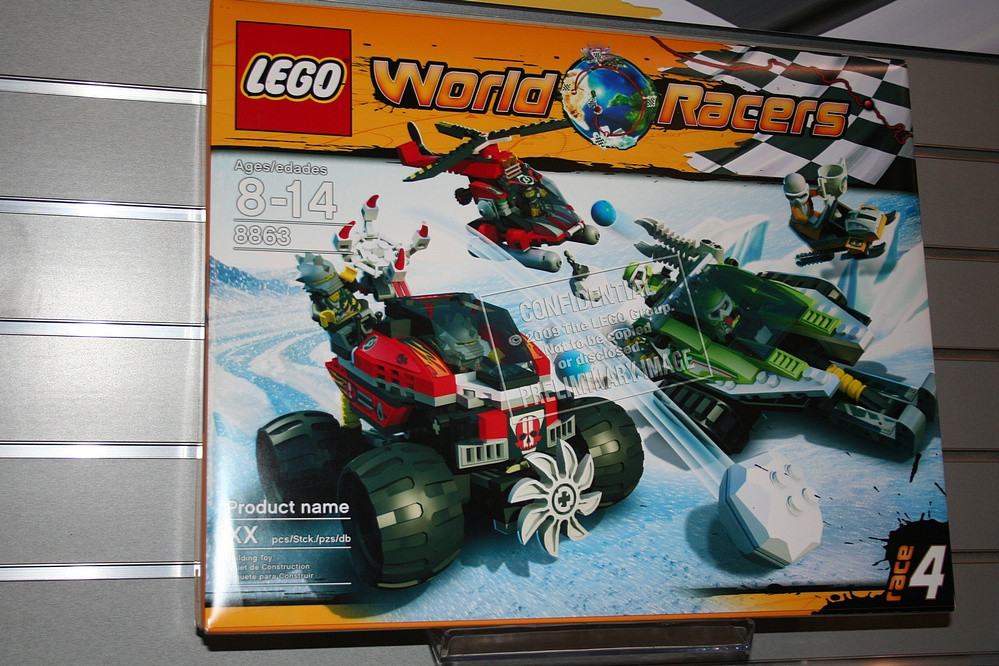 Toy Fair 2010 Coverage - Lego World Racers - Parry Game Preserve