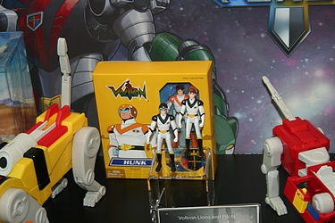 Toy Fair 2012 - Mattel Voltron