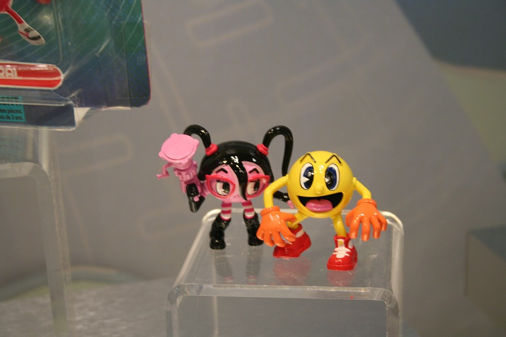 Toys And Adventures : Toy fair coverage bandai pac man and the ghostly