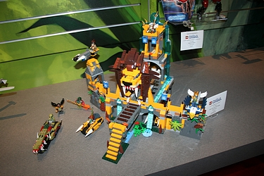 Lego Chima - from NY Toy Fair 2013