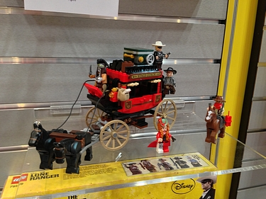 Toy Fair 2013 - Lego Lone Ranger