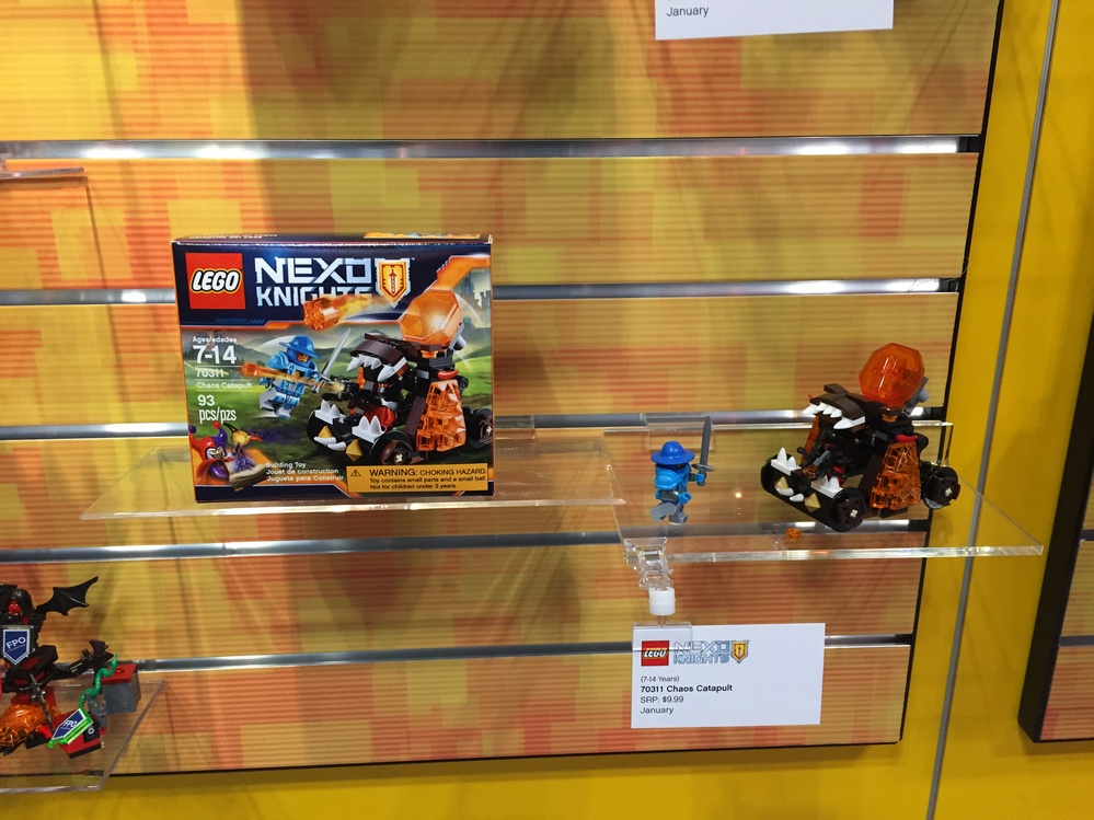 Toy Fair 2016 Coverage - Lego: Nexo Knights - Parry Game Preserve
