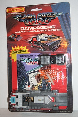 Flash Force 2000: Kil-lor - Rampagers