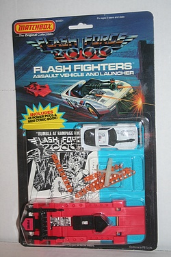 Flash Force 2000: Maz - Flash Fighter