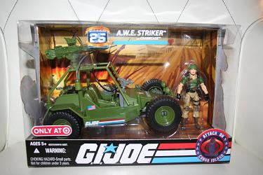 GI Joe 25th - AWE Striker Target Exclusive