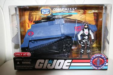 GI Joe 25th - Cobra HISS Target Exclusive