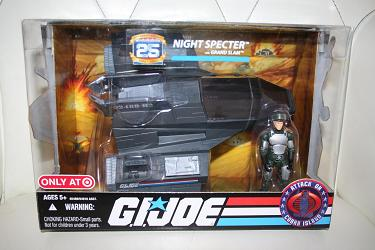 GI Joe 25th - Night Specter Target Exclusive