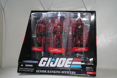 Senior Ranking Officer - Crimson Guard Set 2