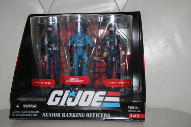 Senior Ranking Officers Set 3 - Toys R Us Exclusive 3-pack
