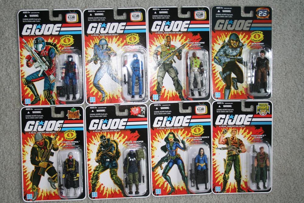 Old Gi Joe Action Figures