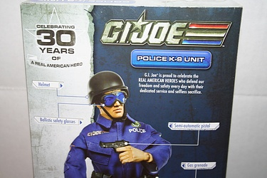 G.I. Joe: 30 for 30 - Police K-9 Unit