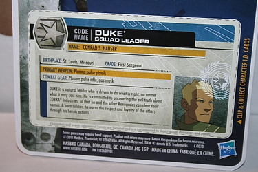 G.I. Joe: 30 for 30 - Duke - Squad Leader