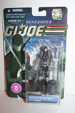 G.I. Joe - Renegades Snake Eyes