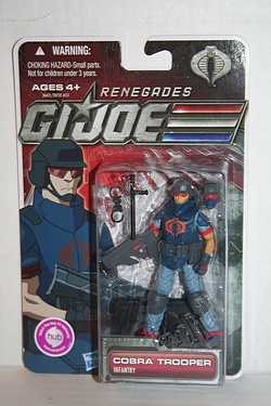 Transformers G.I. Joe 30 for 30 (2012) - Cobra Trooper: Infantry