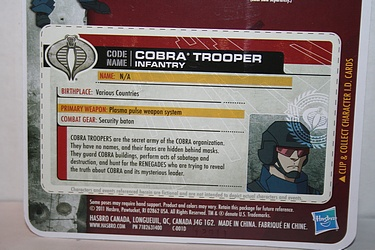 G.I. Joe: 30 for 30 - Cobra Trooper: Infantry