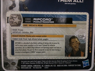 G.I. Joe: 30 for 30 - Ripcord: Paratrooper